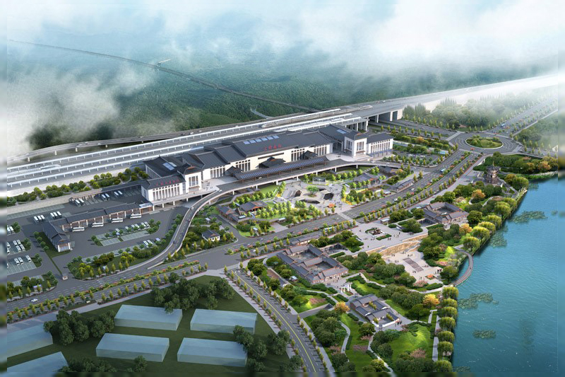 福建省三明市动车站